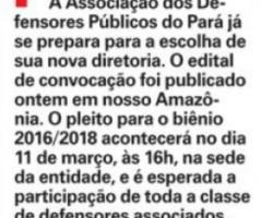Jornal Amazônia - Coluna do Adenirson Lage - 09.01